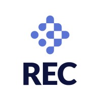 The logo of REC - the Recruitment and Employment Federation