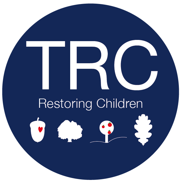 TRC Restoring Children logo